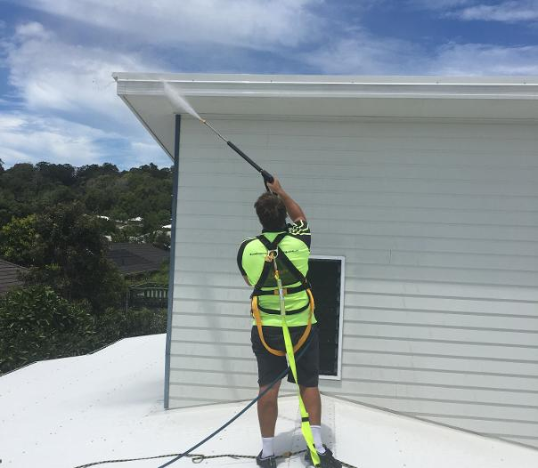 house washing sunshine coast